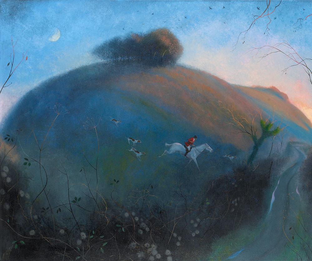 Horseman in the Fading Light