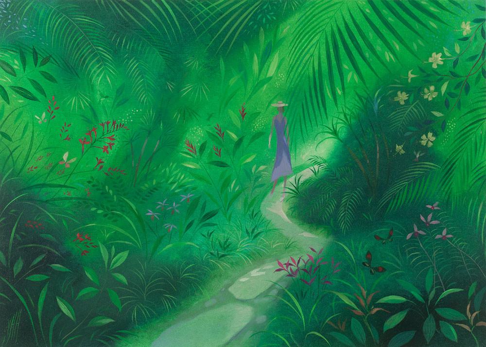 On a Path Through a Tropical Garden