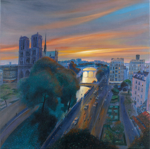 Paris – Dawn