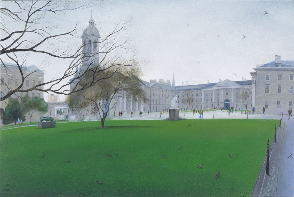 Green and Grey – Trinity College, Dublin