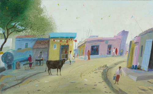 A Street near Shahpura