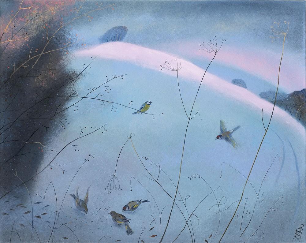 Little Birds in the Snow