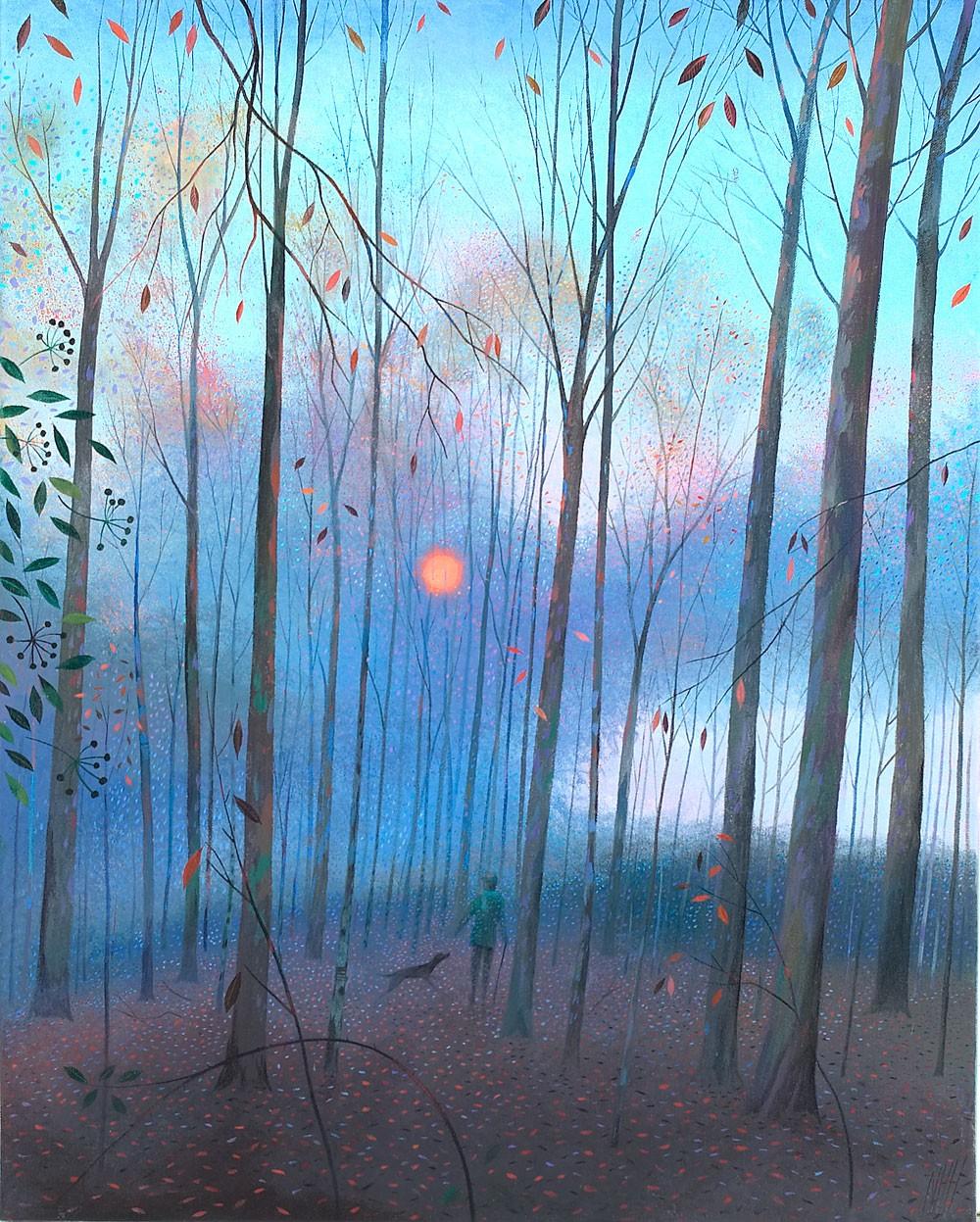 Deep in the Woods – Winter Sun