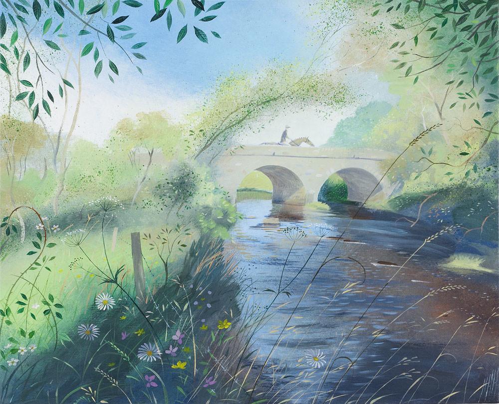 Horseman on the Bridge