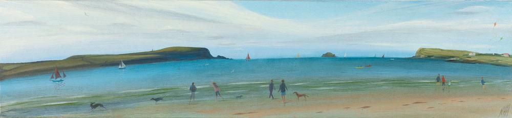 Towards the Island, Daymer bay