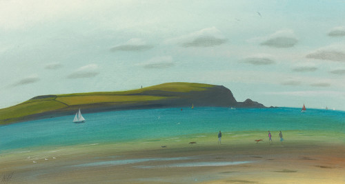 Across the Camel Estuary, Daymer Bay