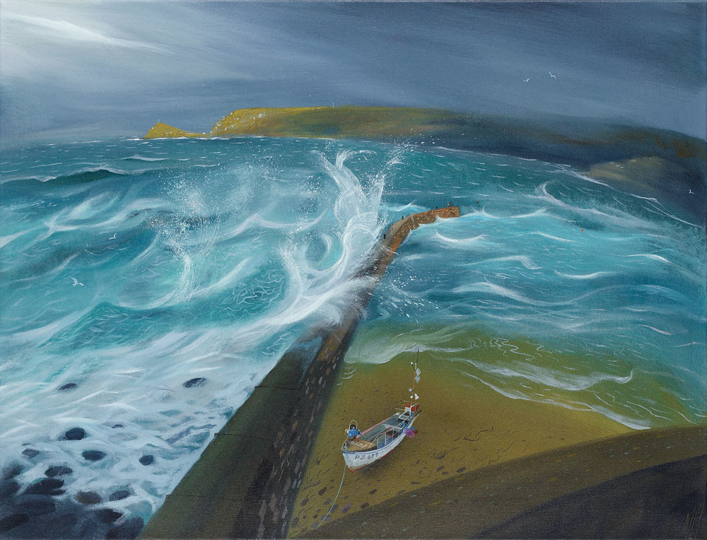 The Breakwater – Sennen Cove