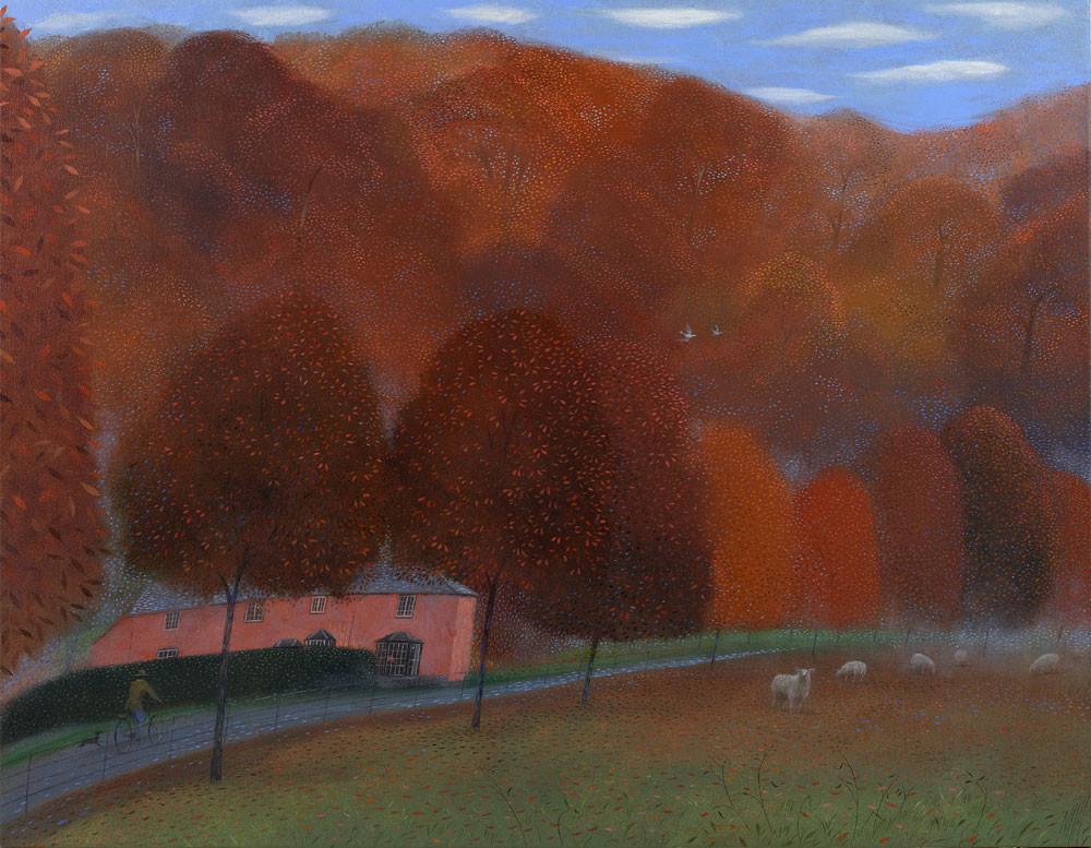 Autumn Morning near Tollard Royal