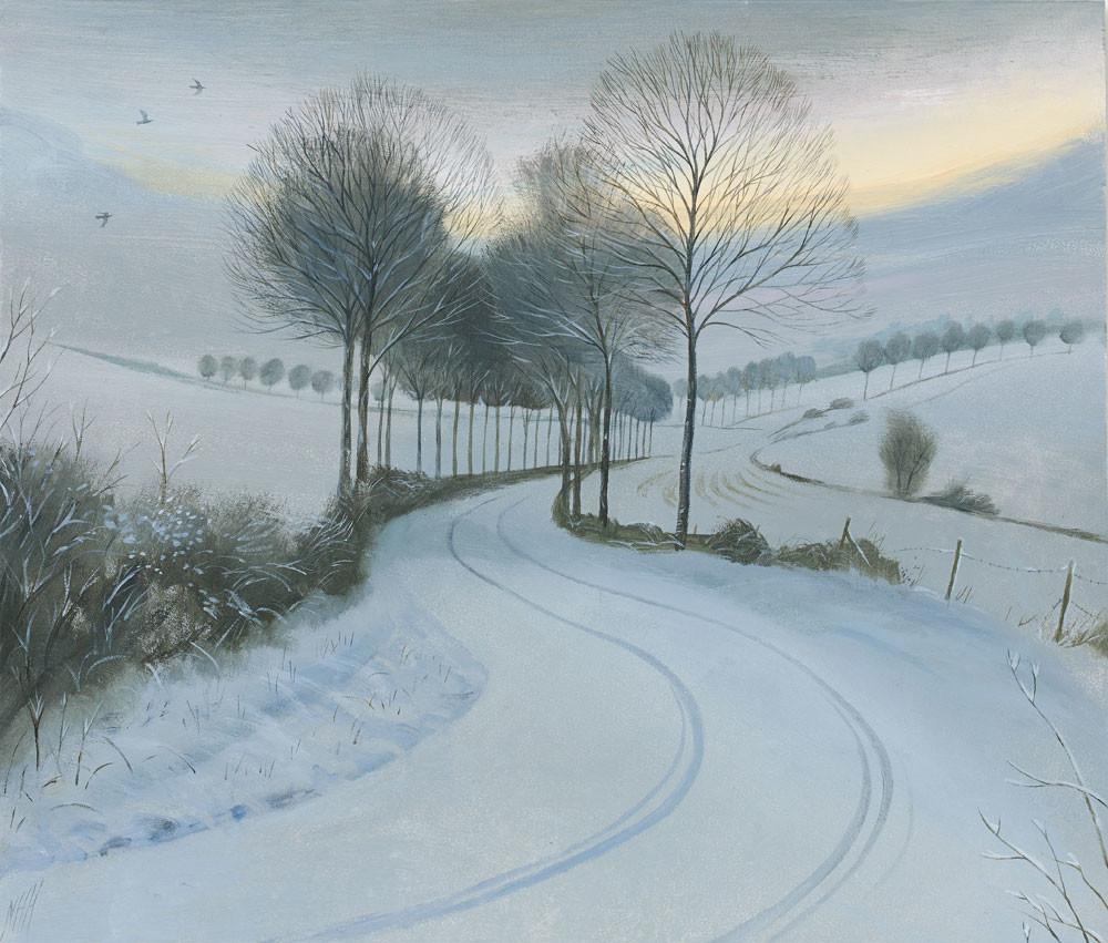 A Cold Morning near Moor Crichel