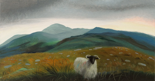 In the Caha Mountains
