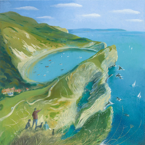 Above Lulworth