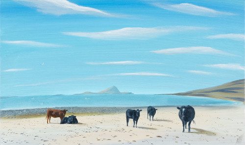 Cows on the Strand