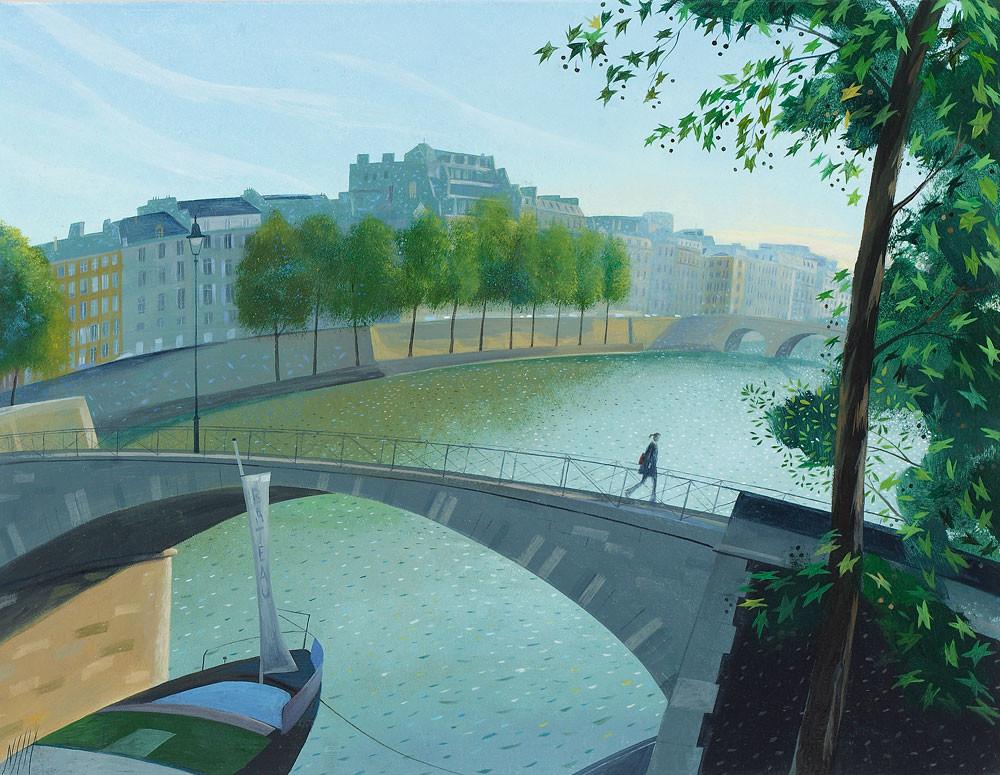 Crossing the Seine – Paris