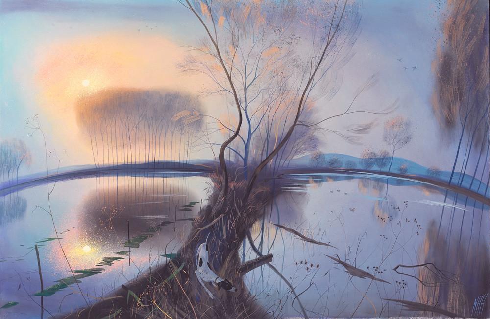 Winter Morning –  Flooded Fields