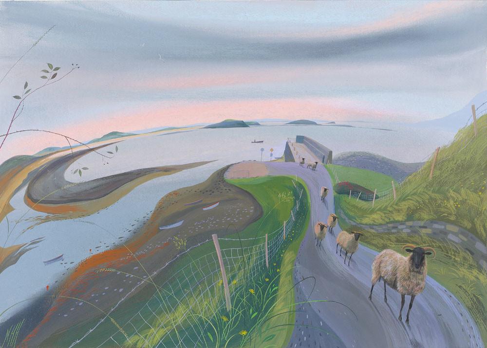 Dawn by Mulranny Pier