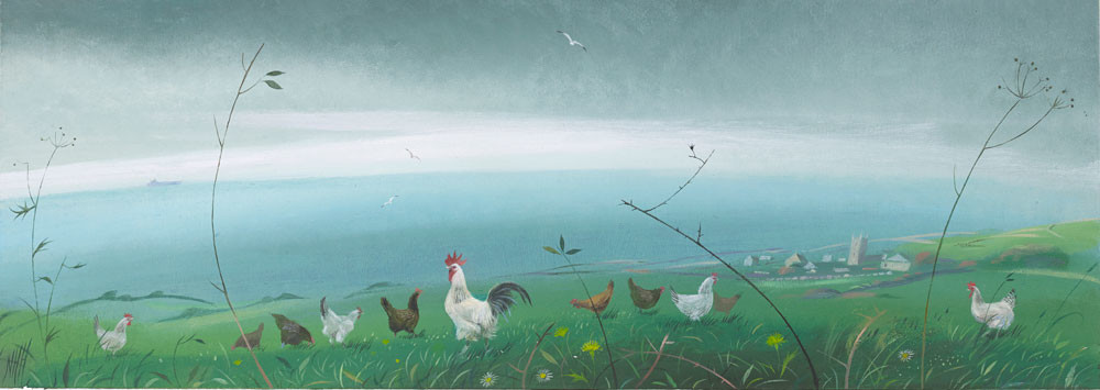 Chickens by the Sea – Zennor