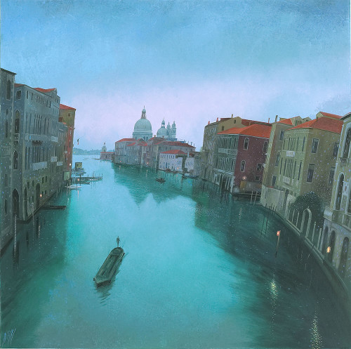 Dawn on the Grand Canal