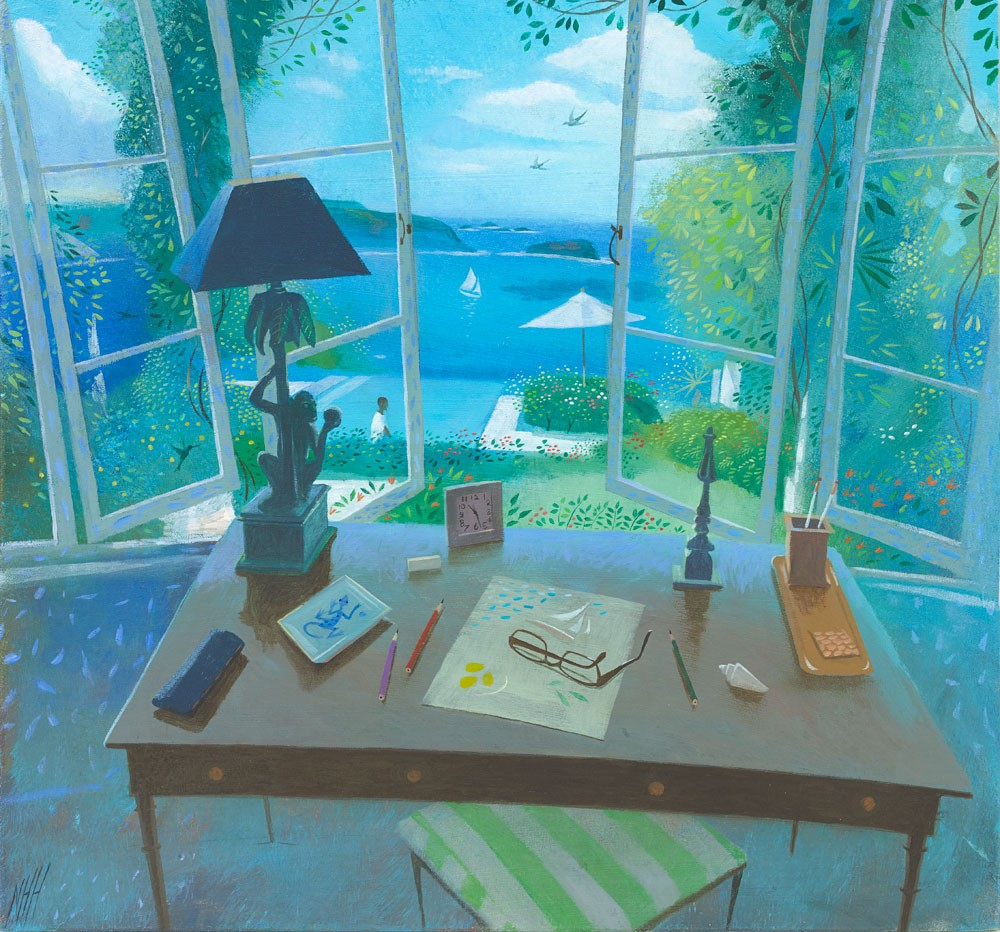 Desk by the Window – Les Jolies Eaux