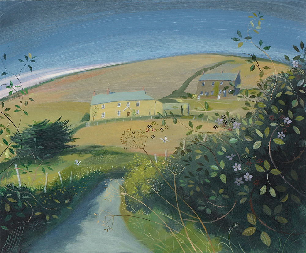 Yellow Farmhouse – Cornwall