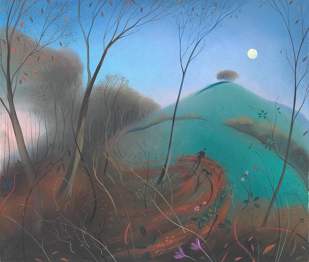 Walking Home – Rising Moon