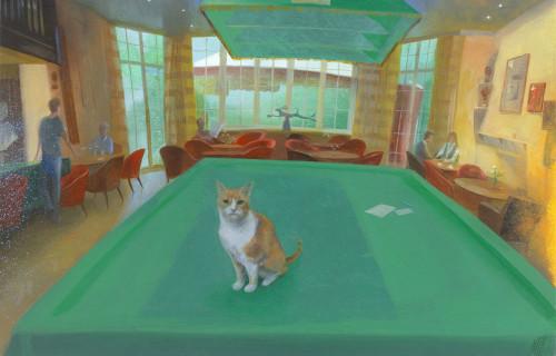 The Chelsea Arts Club Cat