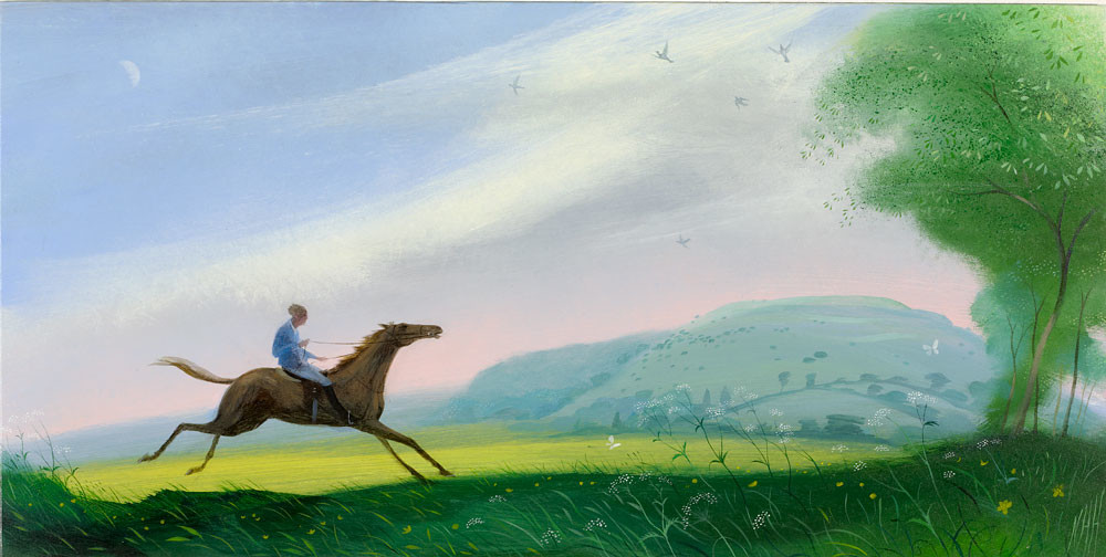 The Bolting Horse by Hambledon Hill