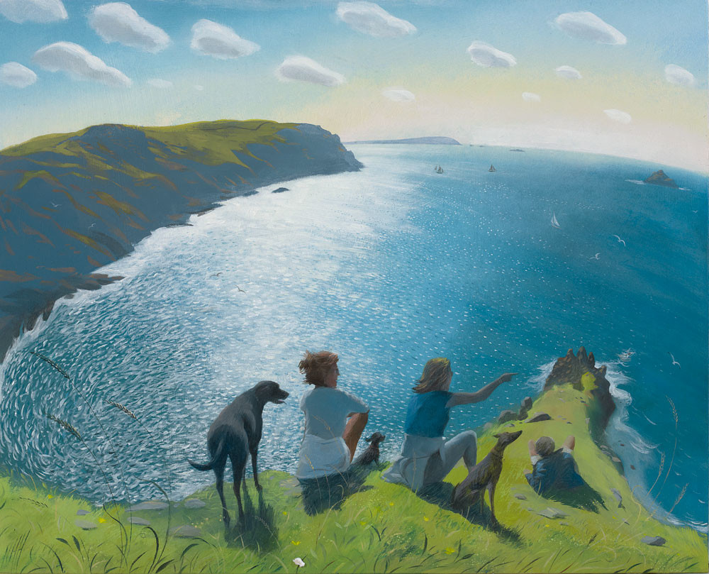 On the Cornish Cliffs