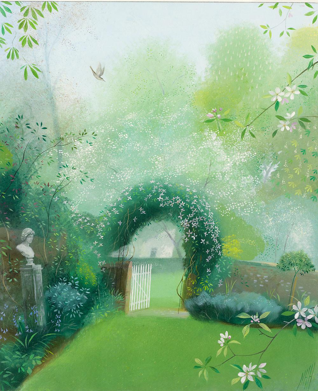 Spring Morning in the Garden