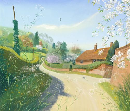 Spring Morning, Wimborne St Giles