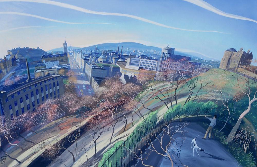 Autumn Morning, Edinburgh (1997)