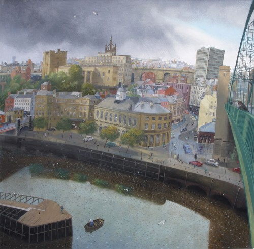 Newcastle from the Tyne Bridge
