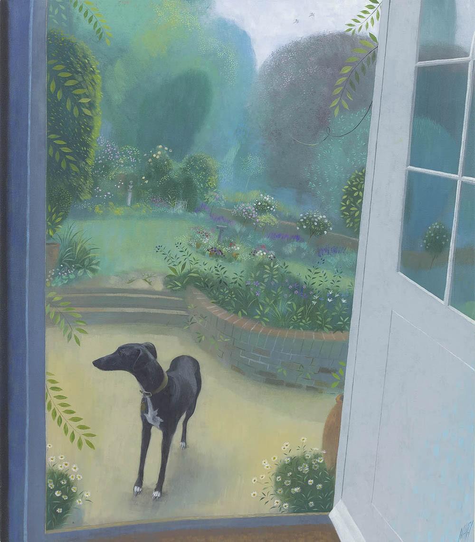 Miss Martha by the Garden Door