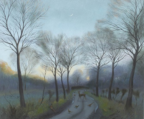 A Winter Evening near Crichel
