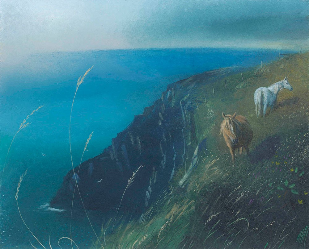 Ponies on the Cliffs – Pembrokeshire