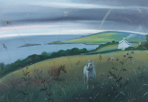 Welsh Ponies by Rock Cottage