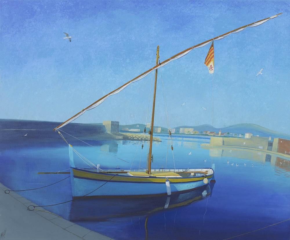 Old Fishing Boat – Port du Cros, Cagnes