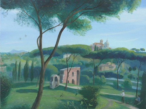 A Morning by the Palatine Hill