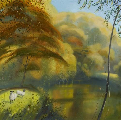 Autumn Morning near Hod Hill