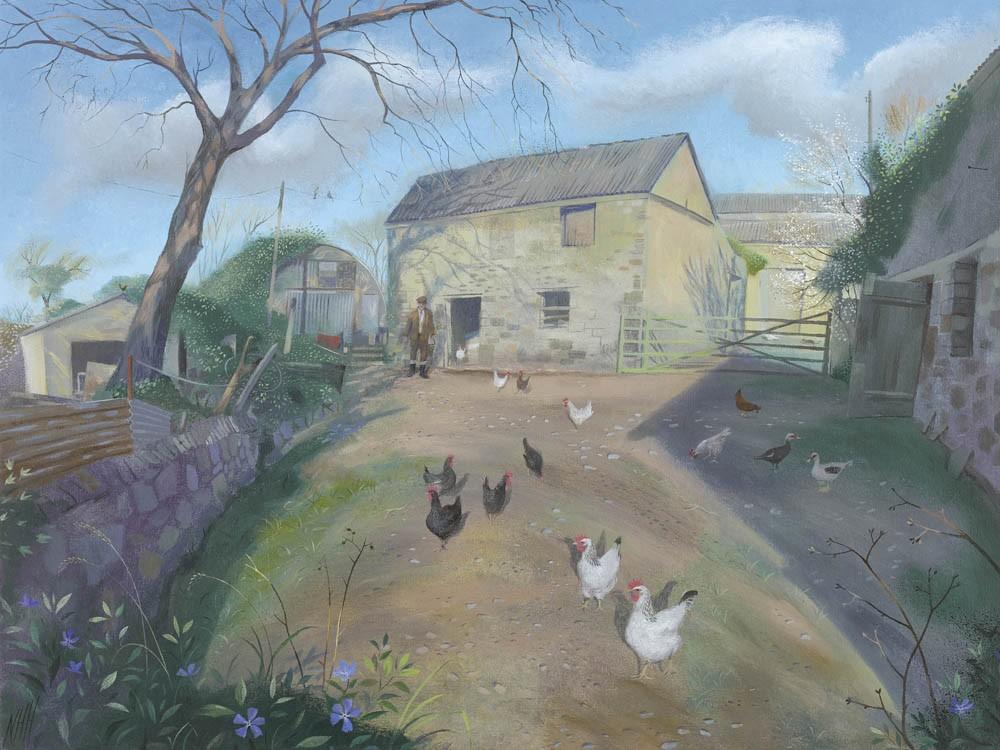 Cornish Farmyard, Carne