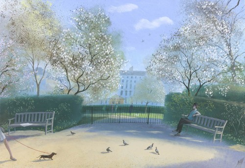 Spring Morning, Kensington Gardens